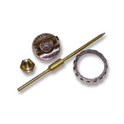 Ремкомплект для краскораспылителя 4 предмета : сопло 1,8 мм + игла + форсунка + зажим сопла// MATRIX фото