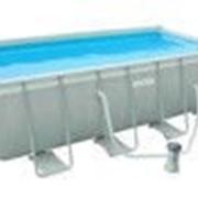 Каркасный бассейн Intex 28350 (54182 ) Rectangular Ultra Frame 400x200x100 см фото