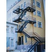 Лестницы с ограждением. фото