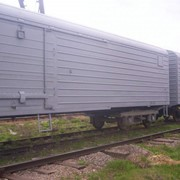 Услуги железнодорожных перевозок в рефрижераторных вагонах фото