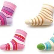 Носки полосатые SKP фото