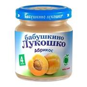 Пюре Бабушкино Лукошко - Абрикос 100гр фото