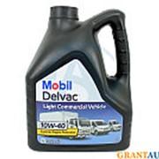 Масло моторное MOBIL DELVAC LCV 10W40 4л фото
