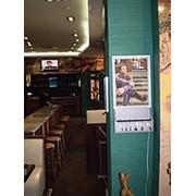 Реклама в кафе фото