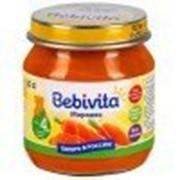 Пюре Bebivita Морковь, с 4 мес 100 гр фото