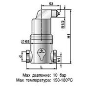 Сепаратор микропузырьков Spirovent высокая температура /высокое давление/ латунь, артикул АА125/025 фото