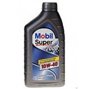 MOBIL SUPER 2000 X1 10w40 п/синт. (1л) фото