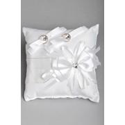 Подушка для колец №03, белый фото