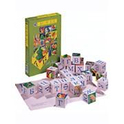 Кубики «Азбука» фото