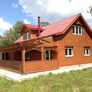 Дома каркасно-панельные деревянные фото