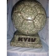 Мяч каменный сувенирный фото