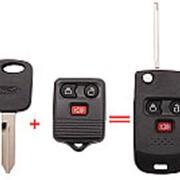 Корпус для изготовления выкидного ключа FORD, 3 кнопки, лезвие FO38R фото