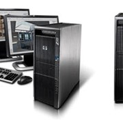 Рабочая станция HP Z400 фото