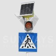 Светофор пешеходный солнечный T.7 (1) фото