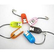 USB адаптер для T-Flash/TF/MicroSD карт фото