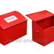 Ящик для песка. фото