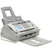 Факсимильный аппарат с телефонной трубкой фото