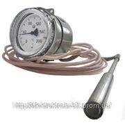 Термометр показывающий электроконтактный газовый ТГП-100Эк-М1 фото