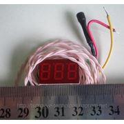 Термометр Т-036DS (красный) фото