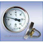 Термометры биметаллические трубные ТБТ фото