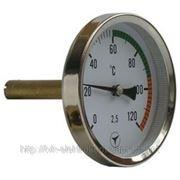 Термометр ТБУ-63, термометр биметаллический, термометр показывающий фото