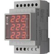 Индикатор напряжения цифровой ВЕ-3 3S 380В фото
