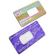 Упаковка блистерная с голографической защитой. Форма номер 3 фото
