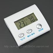 Гигрометр + термометр электронный фото