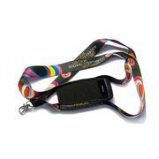 Шнурки ланъярды лента с нанесением логотипа методом сублимации фото
