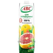 Сок 100% Грейпфрутовый, объём 1л фото