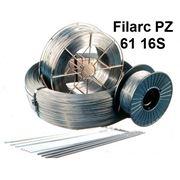 Порошковые проволоки для полуавтоматической сварки легированных высокопрочных и теплоустойчивых сталей Filarc PZ 61 16S фото