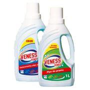 Жидкость для стирки VENESS для цветных и деликатных тканей 1 л фото
