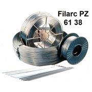 Порошковые проволоки для полуавтоматической сварки легированных высокопрочных и теплоустойчивых сталей Filarc PZ 61 38 фото