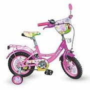 Детский двухколесный велосипед Лунтик 14 дюймов LT 0051-02 фиолетовый фото