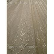 Тюль Корал Органза с вышивкой Турция 13118 -1 фото