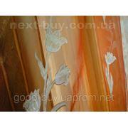 Тюль Органза - Цветок Турция GKР-21 -1 фото