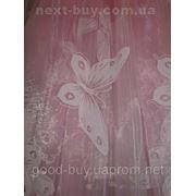 Тюль Бабочка - органза 00015-1-Л -1 фото