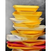 Лотки и подложки для пищевых продуктов фото