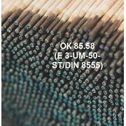 Электроды для износостойкой наплавки и ремонта деталей ОК 85.58 (E 3 -UM -50 -ST/ DIN 8555) фото