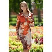 Платье 1670 Терракот цвет фото