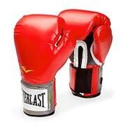 Перчатки боксерские Everlast Pro Style Anti-Mb 2110U 10 унций красные фото