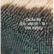 Электроды для износостойкой наплавки и ремонта деталей ОК 84.58 (E6- UM-55 – G / DIN 8555) фото