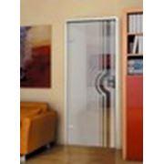 Двери стеклянные межкомнатные фото