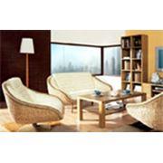 Плетеная мебель из ротанга и бамбука фото