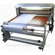 Каландровые пресса для сублимационной печати на ткани, флажной сетке, крое, атласе фото