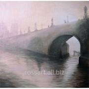 Картина Маслом Карлов мост фото