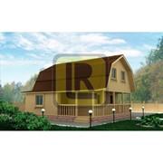 Дом из бруса Проект №18 (7.5х7.5) фото