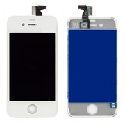 Дисплей для iPhone 4 White + touchscreen ORIGINAL Без битых Пикселей фото