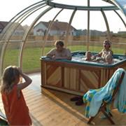 Павильоны для бассейнов и спа фото