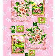 Полотно вафельное Пасха (полотенечное) (арт. 5065/2) фото
